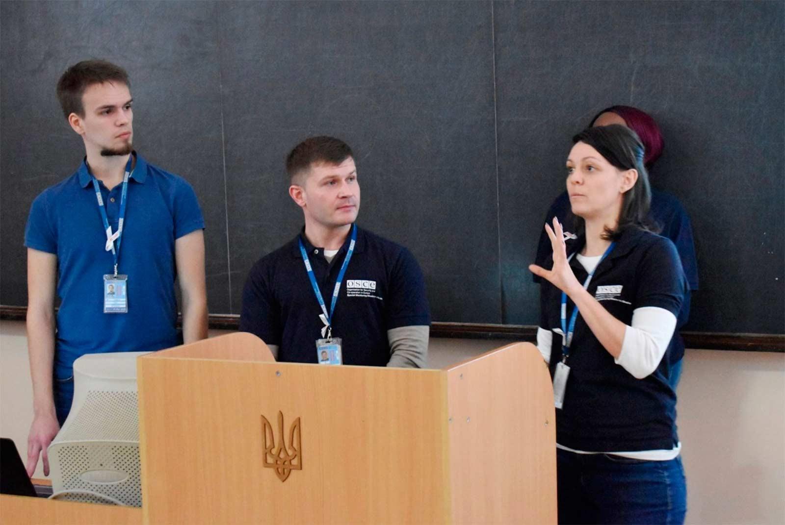 Людвін Ест'єн розповіла про цілі та завдання Спеціальної моніторингової місії ОБСЄ