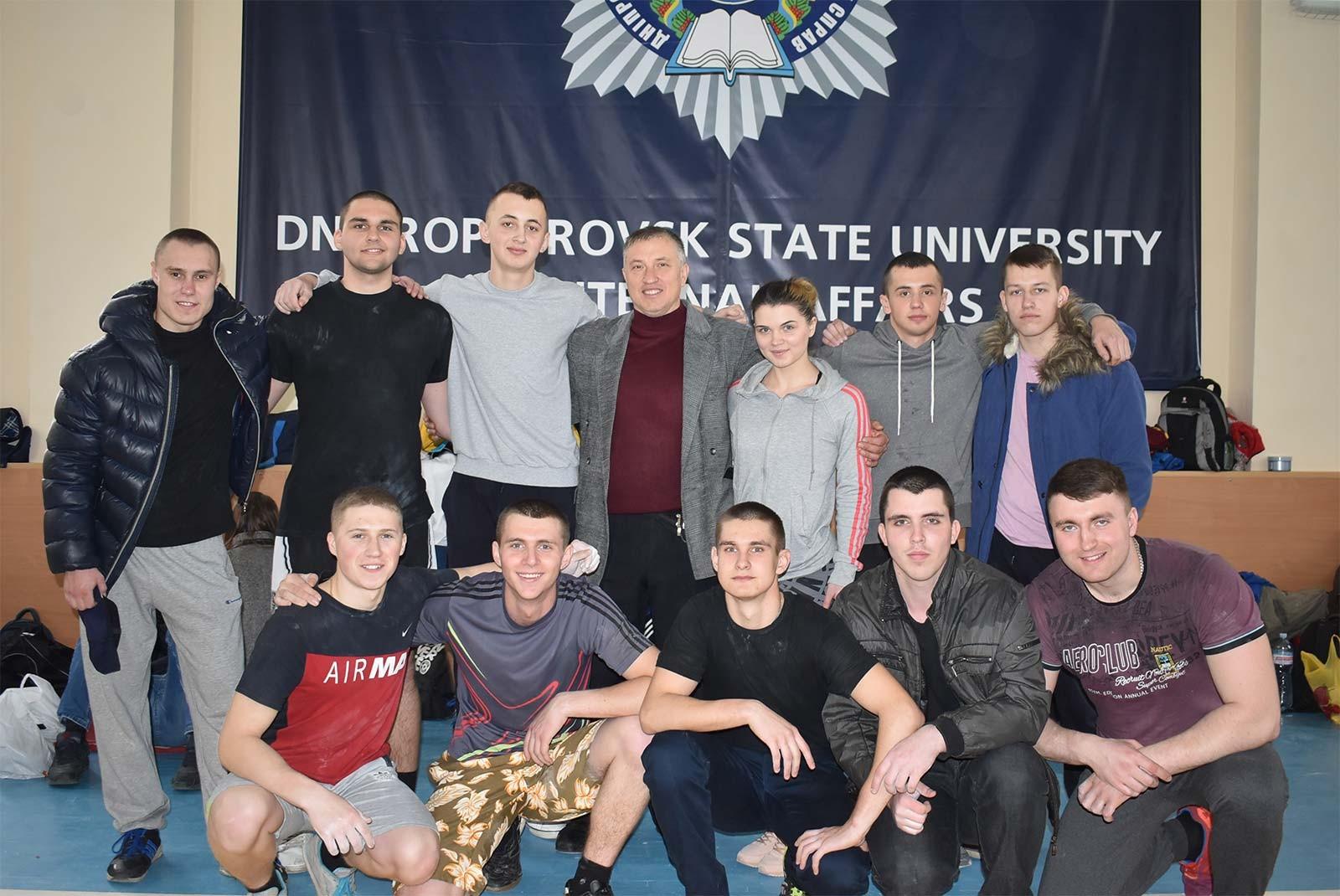 Пишаємося нашими спортсменами та бажаємо збірній університету подальших успіхів на Чемпіонаті України!