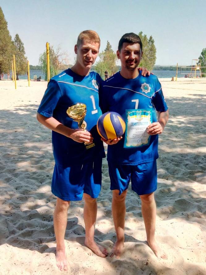 Збірна ДДУВС із пляжного волейболу отримала перемогу