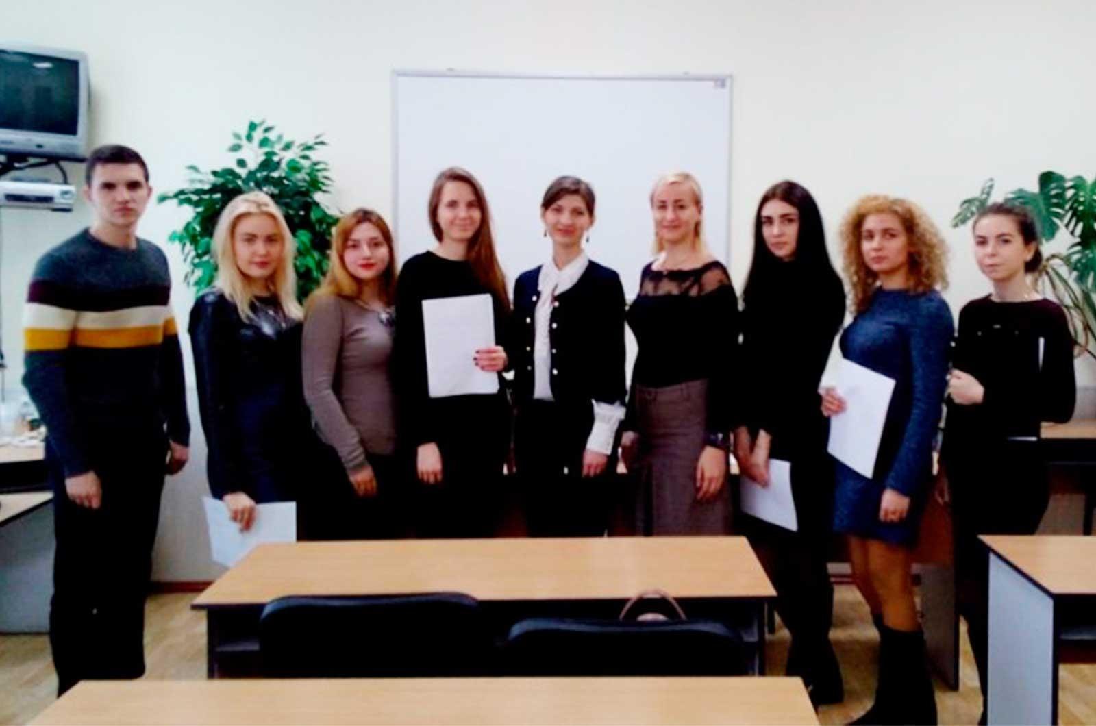 На кафедрі цивільно-правових дисциплін діє студентський науковий гурток «Цивіліст»