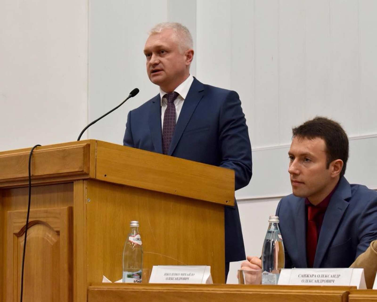 Ректор ДДУВС полковник поліції Андрій Фоменко