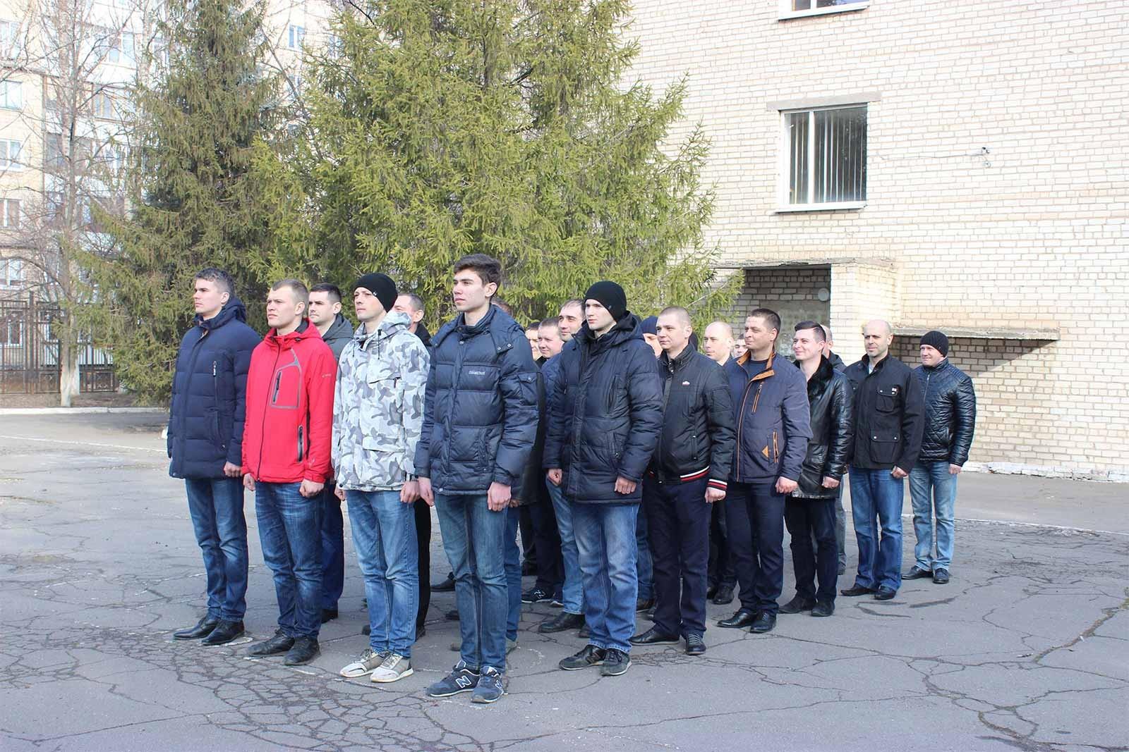 Слухачі Запорізького центру підготовки поліцейських та Криворізького факультету ДДУВС