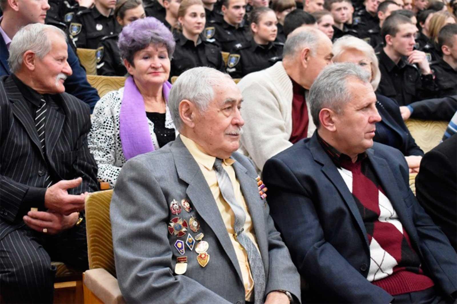 В університеті привітали ветеранів і пенсіонерів із Днем вшанування пенсіонерів та ветеранів системи МВС України