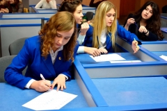 Студенти-першокурсники продемонстрували відмінні знання з римського права.