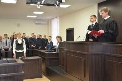Перше модельне судове засідання у ДДУВС