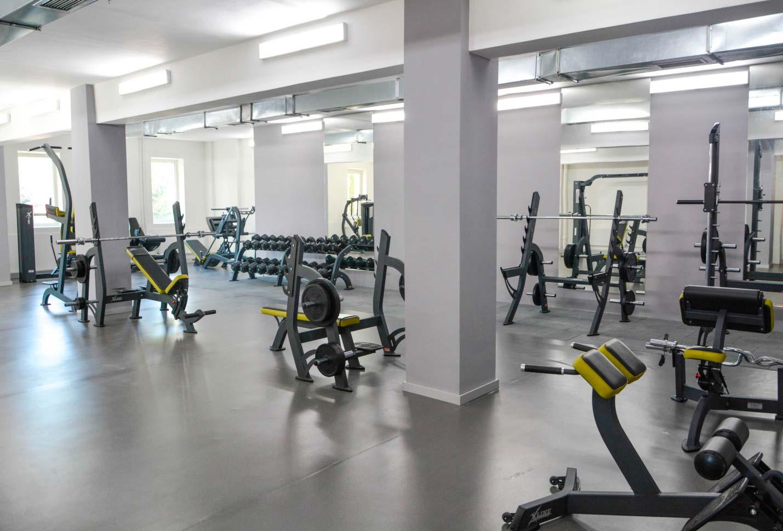 В університеті відкрився новий тренажерний зал