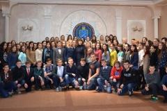 В університеті пройшла осіння установча сесія для учнів МАН