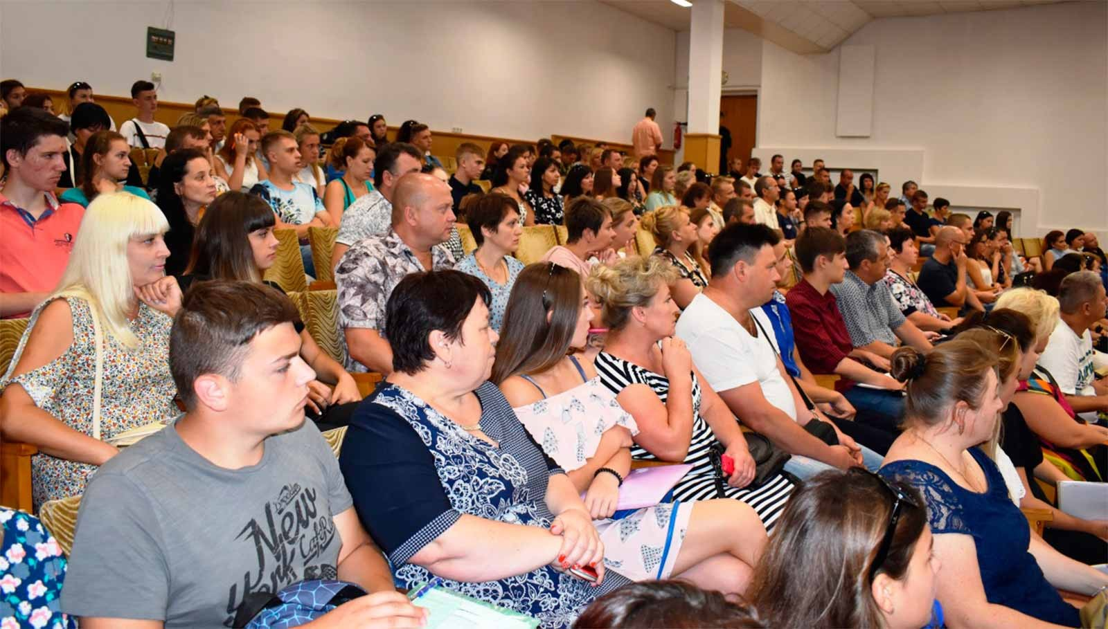 Присутні отримали змістовну інформацію про навчальний заклад