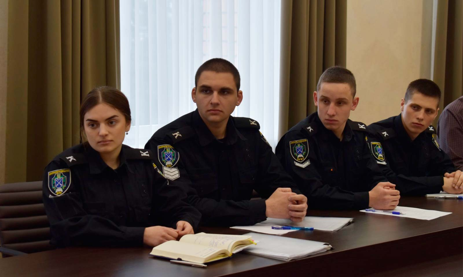 Відбулося настановне засідання Студентсько-курсантської ради ДДУВС