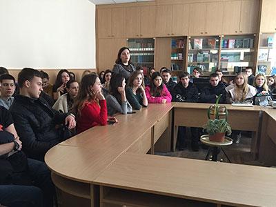 Кафедрою соціально-гуманітарних дисциплін ДДУВС були проведені заходи для студентів