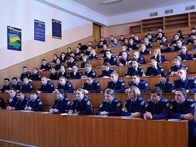 Курсанти ДДУВС познайомилися з багатомільйонним фондом обласної універсальної наукової бібліотеки