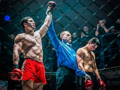 Спортивне життя ДДУВС - змагання з фрі-файту (рукопашний бій)