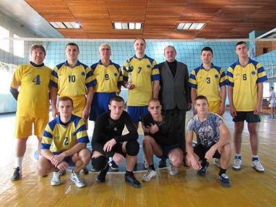 Збірна команда ДДУВС із волейболу взяла участь у турнірі обласної організації ФСТ «Динамо».