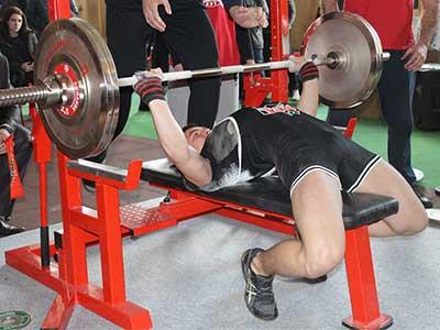 Курсант університетету став чемпіоном на всеукраїнських змаганнях з пауерліфтингу