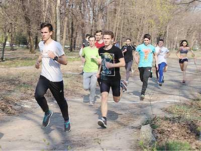 Студенти Криворізького факультету ДДУВС взяли участь у щорічному весняному традиційному міському легкоатлетичному кросі