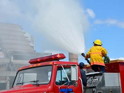 Змагання пожежних формувань ДДУВС