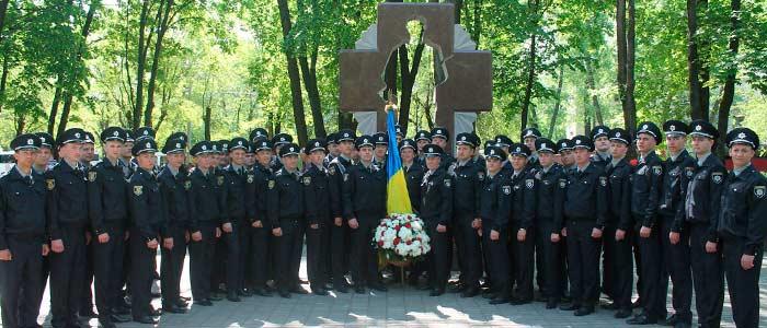 Вшанування пам'яті Героїв Небесної Сотні.
