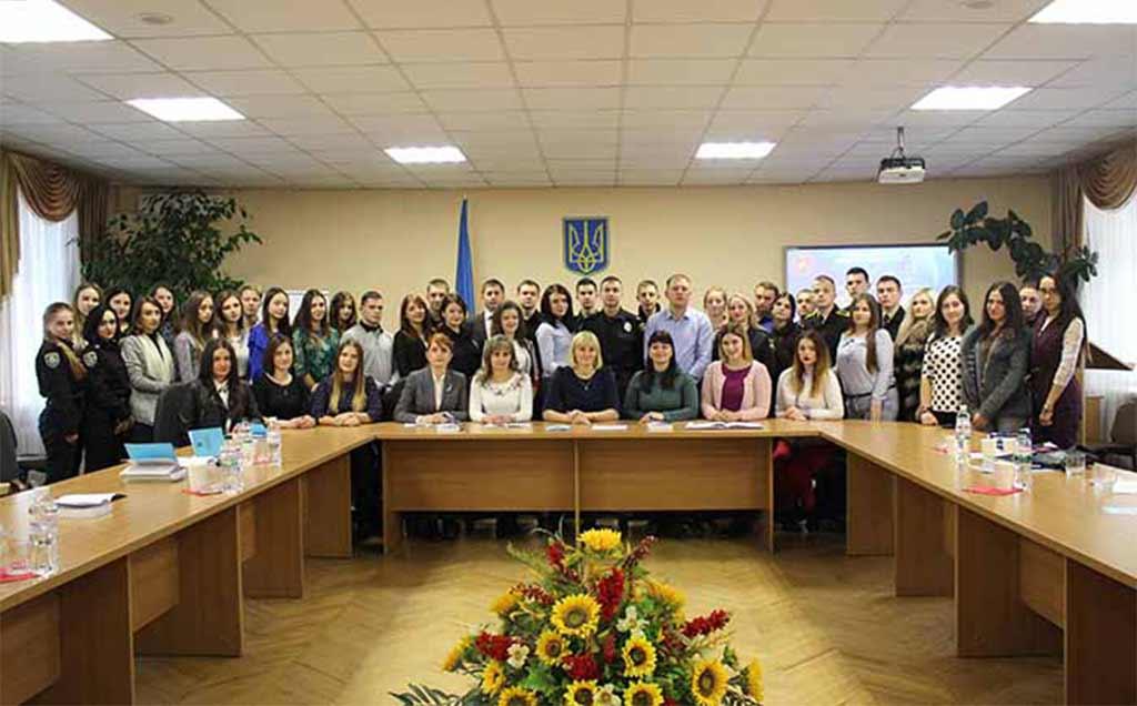 В осінніх читаннях взяли участь і представники Дніпропетровського державного університету внутрішніх справ