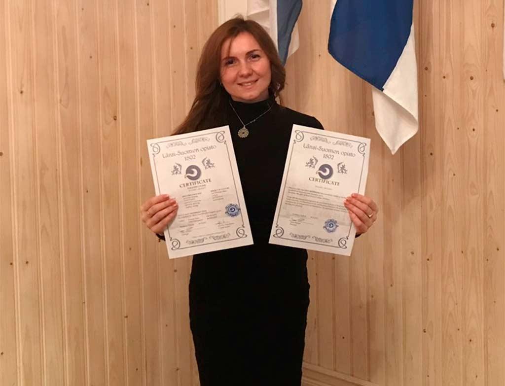 Досвід з-за кордону: викладачка ДДУВС пройшла стажування у провідному виші Фінляндії