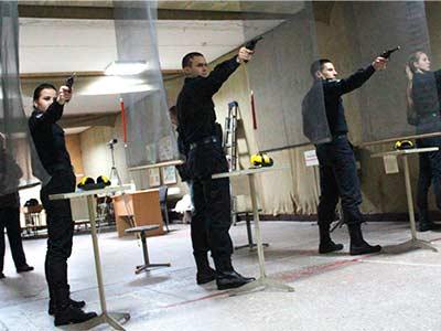 Змагання з кульової стрільби серед молоді Дніпра