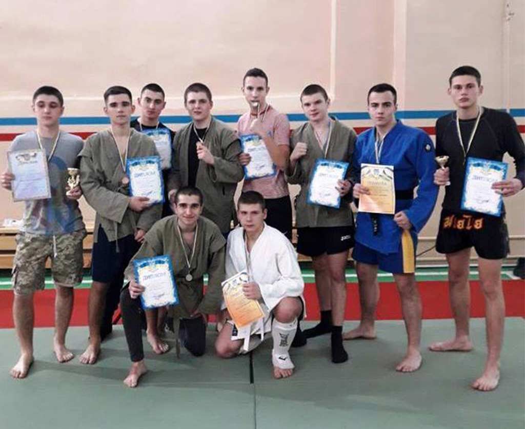 Дебютний та переможний виступ курсантів-першокурсників ДДУВС на змаганнях із рукопашного бою